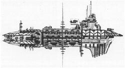 Hellfire Class Heavy Cruiser