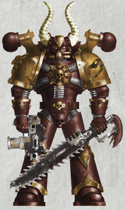 Magma Hounds Heretic Astartes