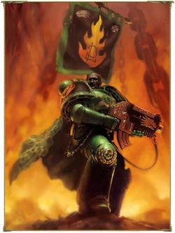 Salamanders 2nd Co. Commander