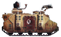 Minotaur Damocles Command Vehicle