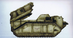 Imperial Praetor Armored Assault Launchers Side View