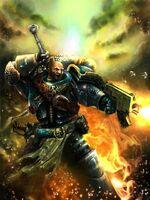 Storm Wardens swordsman