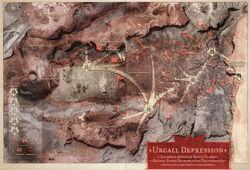 Strategic Map Ravens' Flight