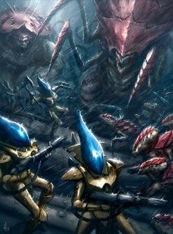 Iyanden Wraithguard Tyranids