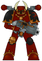 Eightscarred Chaos Marine 3