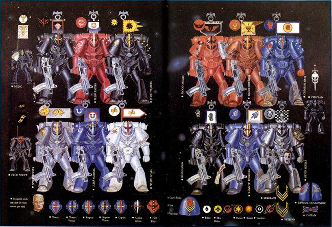 RT-Space Marines Colors & Markings