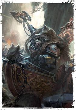 Grimnar Stormrider charge