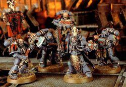 Hengist Ironaxe's Grey Hunters