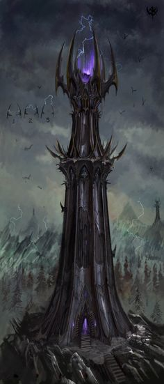 Dark Elf Watchtower