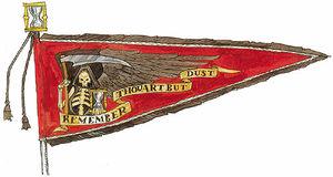 Black Guard of Morr Banner
