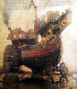 Marienburg Class Land Battle Ship