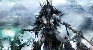 Warhammer Neferata Art 2