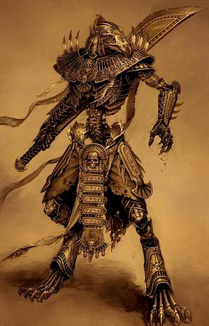 Warhammer Tomb Kings Ushabti