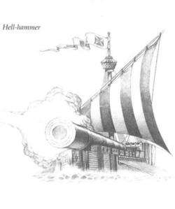 Hellhammer ship