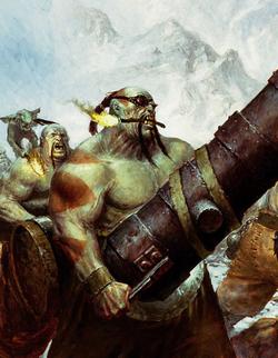 Warhammer Ogre Leadbelcher