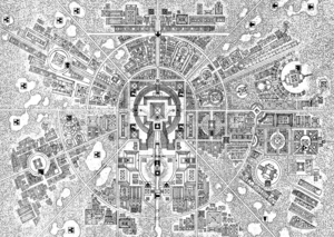Warhammer Tlaxtlan City Map