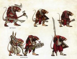 Warhammer Clan Mors Military