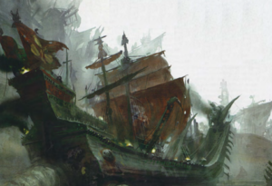 Warhammer End Times Plague Fleet