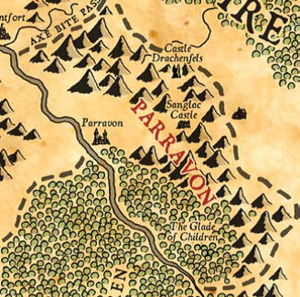Map of parravon