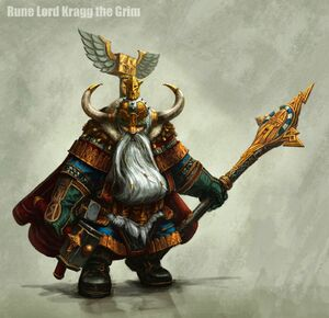 Warhammer Kragg the Grim Art