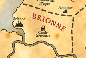 Brionne map