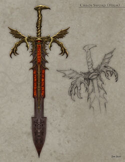 Warhammer Chaos Weapons