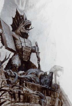 Warhammer Lizardmen Tehenhauin Art