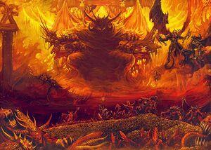 Warhammer Khorne Brass Throne