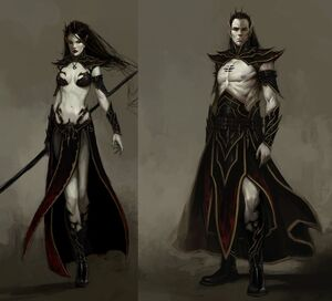 Warhammer Dark Elves Biology