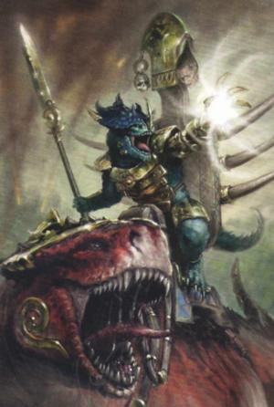 Warhammer Lizardmen Kroq-Gar