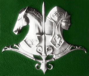 Adyghan riders emblem