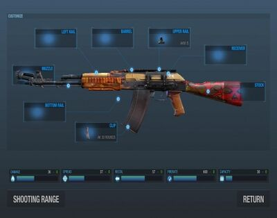 Akm elite custom view