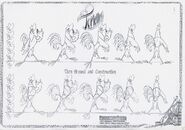 Fearless four 1997 character design 08