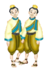 The King and I 1999 - The Royal Children - Prince Thoni and Monti
