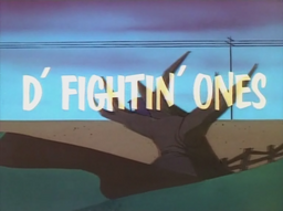 D'Fightin' Ones Title Card