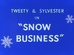 Snow Business Title Card