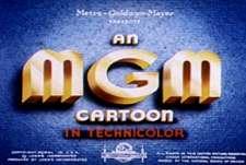 Title Card for a MGM Cartoon Studio Short