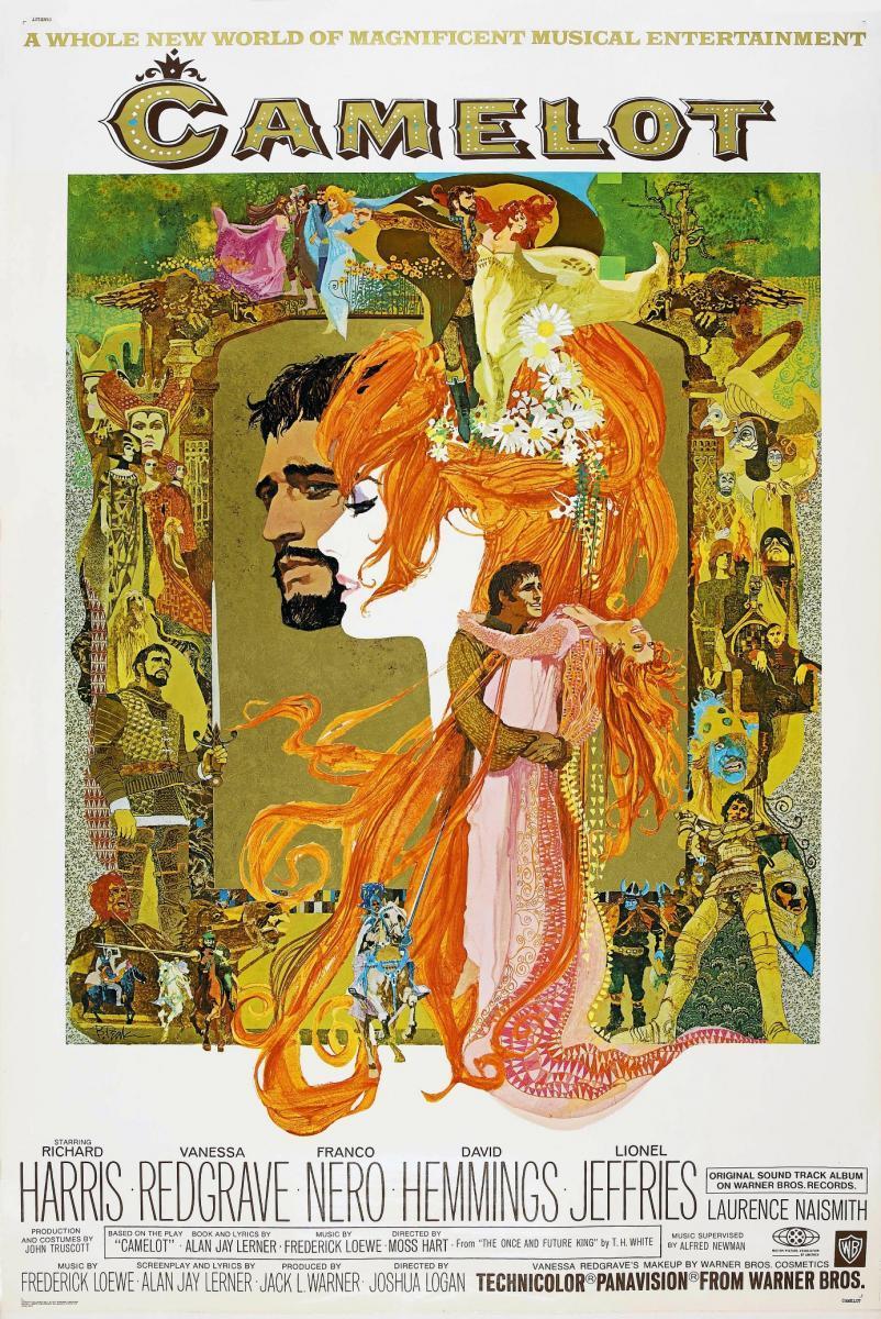 Camelot (film) poster