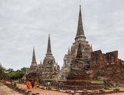 Templo Phra Si Sanphet, Ayutthaya, Tailandia, 2013-08-23, DD 16
