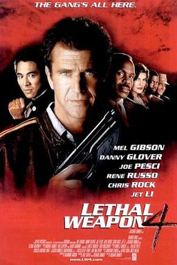 Lethal Weapon 4 Poster