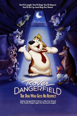 Movie poster rover dangerfield