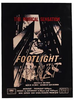 Footlight Frenzy Poster