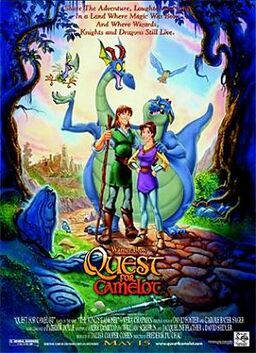 Quest for Camelot- Poster