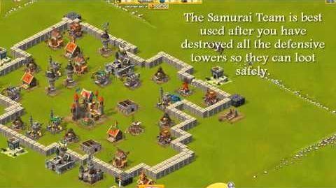 War of Mercenaries Tips & Tricks Group - Samurai Team