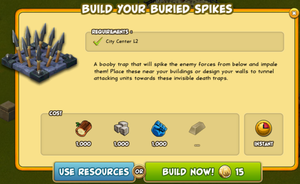 Buried Spikes