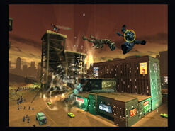 Metro - Explosion