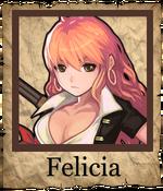 Felicia Corsair Poster