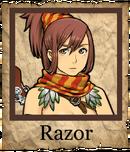 Razor Musketeer Poster