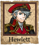 Hewlett Musketeer Poster