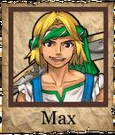 Max Swashbuckler Poster